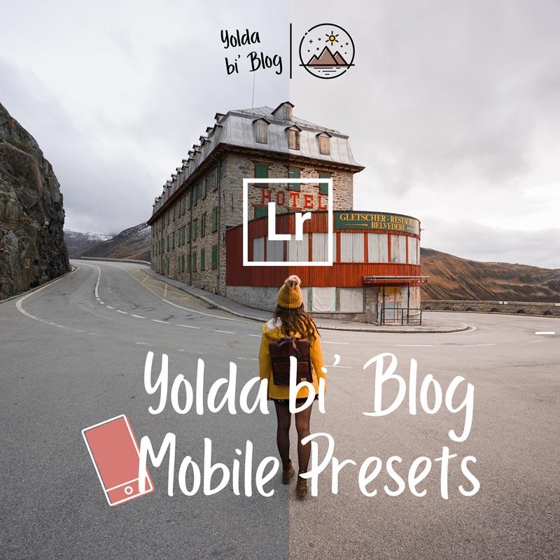Yolda bi' Blog Lightroom Mobil Ayarlar