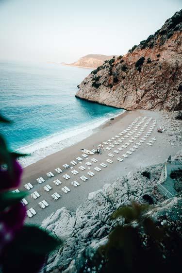 Kaş'ın en güzel sahilleri ve plajları